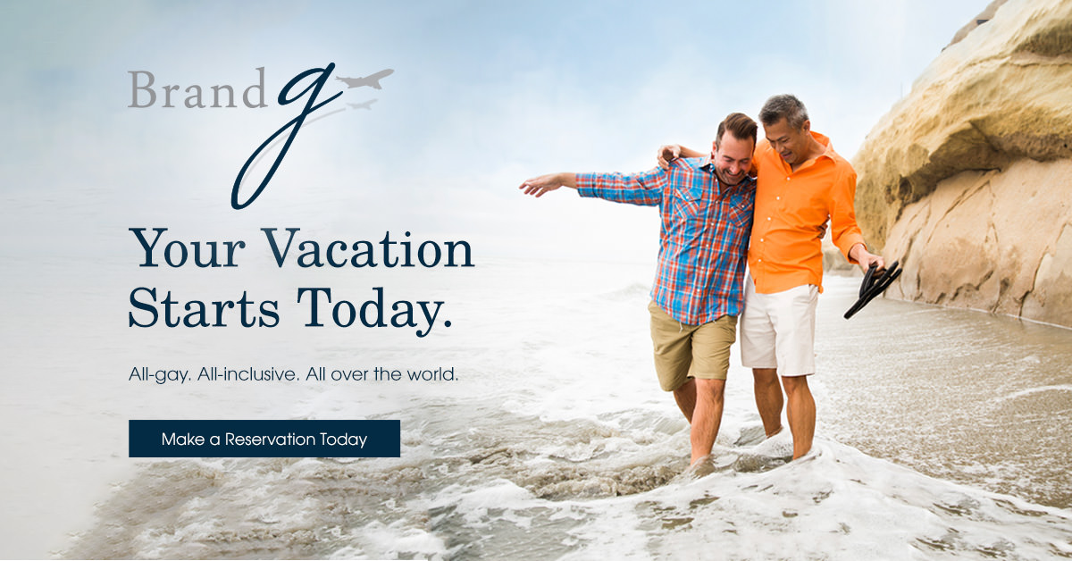 Brand g Vacations - The next generation in gay travel