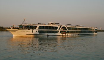 Our River Cruise Ship from Passau to Budapest